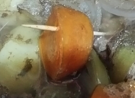 LIVCETRA電気圧力鍋煮え具合